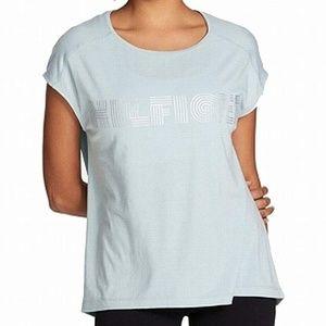 Tommy Hilfiger Womens Performance Metallic T-Shirt